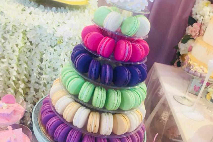 Candy bar – macarons