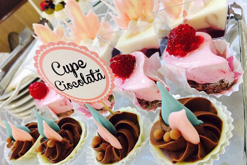 Candy bar – cupe ciocolată